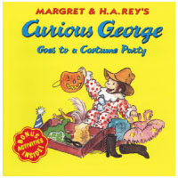 Curious George New Adventures Series: Curious George Goes to a Costume Party