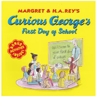 Curious George New Adventures シリーズ: Curious George's First Day of School