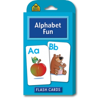 School Zone Flashcards Alphabet Fun (04064)