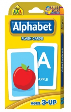 School Zone Flashcards Alphabet(04001/04KP15)