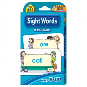 School Zone Flashcards Sight Words (04002/06MPS12)