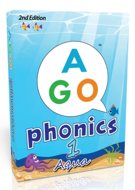 AGO Phonics 2nd Edition Aqua (Level 1) [AGO Card Game]