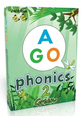 AGO Phonics 2nd Edition Green (Level 2) [AGO Card Game]