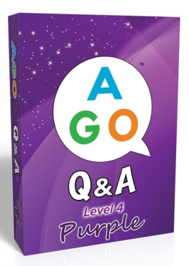 AGO Q&A Purple (Level 4) [AGO Card Game]