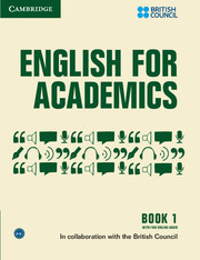 English for Academics Book with Online Audio 1