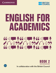 English for Academics Book with Online Audio 2