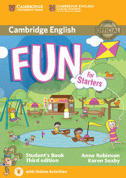 Fun for Starters 3rd Edition Student's Book with Audio with Online Activities