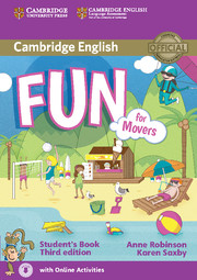 Fun for Movers 3rd Edition Student's Book with Audio with Online Activities