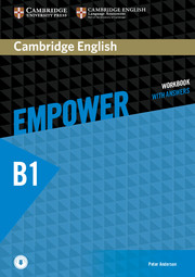 Cambridge English Empower Pre-intermediate Workbook with Answers with Downloadable Audio