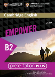 Cambridge English Empower Upper Intermediate Presentation Plus DVD-ROM