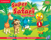 Super Safari Level 1 Pupil's Book with DVD-ROM (British English)
