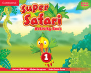 Super Safari Level 1 Activity Book (British English)