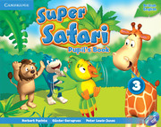 Super Safari Level 3 Pupil's Book with DVD-ROM (British English)