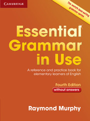 Essential Grammar in Use 4th Edition without Answers