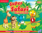 Super Safari American English Level 1 Student's Book with DVD-ROM
