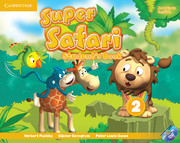 Super Safari American English Level 2 Student's Book with DVD-ROM