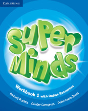 Super Minds 1 Workbook with Online Resources (British English)