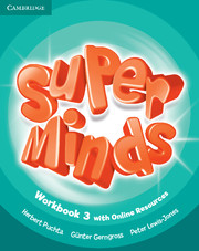 Super Minds 3 Workbook with Online Resources (British English)