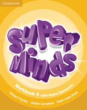 Super Minds 5 Workbook with Online Resources (British English)