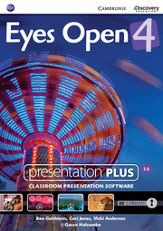 Eyes Open Level 4 Presentation Plus DVD-ROM