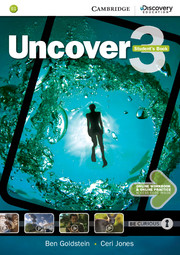 Uncover Level 3 Student\'s Book with Online Workbook and Online Practice