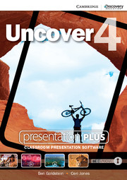 Uncover Level 4 Presentation Plus DVD-ROM