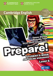 Cambridge English Prepare! Level 6 Student\'s Book and Online Workbook