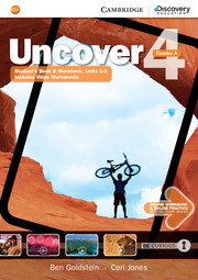 Uncover Level 4 Combo A with Online Workbook and Online Practice