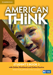 American Think Level 3 Student\'s Book with Online Workbook and Online Practice