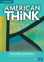 American Think Level 4 Teacher\'s Edition