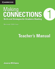 Making Connections 2nd Edition Level 1 Teacher's Manual