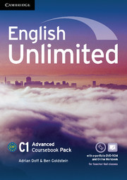 English Unlimited Advanced Coursebook with e-Portfolio and Online Workbook Pack