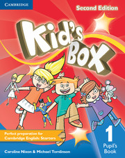 Kid's Box 2nd Edition 1 Pupil's Book