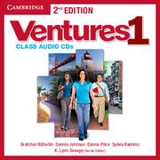 Ventures 2nd Edition 1 Class Audio CDs (2)