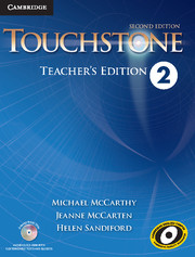 Touchstone 2 2nd Ed Teacher's Edition with Assessment Audio CD/CD-ROM