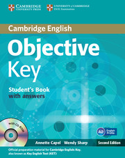 Objective Key Second Edition Student's Book with Answers with CD-ROM