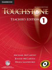 Touchstone 1 2nd Ed Teacher's Edition with Assessment Audio CD/CD-ROM