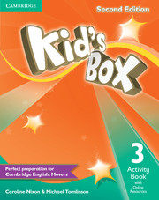 Kid's Box 2nd Edition 3 Activity Book with Online Resources