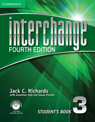 Interchange 4th Edition Level 3 Student's Book with Self-study DVD-ROM