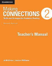 Making Connections 2nd Edition Level 2 Teacher's Manual