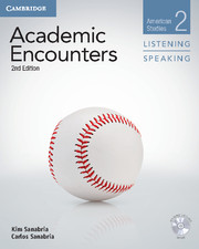 Academic Encounters 2nd Edition 2 Student\'s Book Listening and Speaking with DVD: American Studies