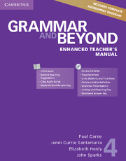 Grammar and Beyond 4 Enhanced Teacher\'s Manual with CD-ROM