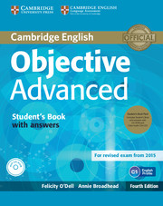 Objective Advanced 4th Edition Student\'s Book with Answers with CD-ROM