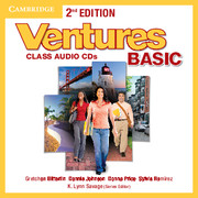 Ventures 2nd Edition Basic Class Audio CDs (2)