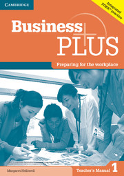 Business Plus 1 Teacher\'s Manual