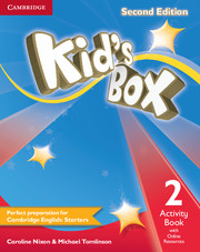 Kid\'s Box 2nd Edition 2 Activity Book with Online Resources