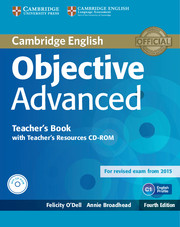 Objective Advanced 4th Edition Teacher\'s Book with Teacher\'s Resources CD-ROM