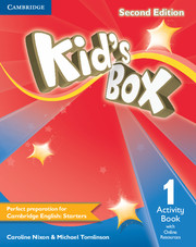 Kid's Box 2nd Edition 1 Activity Book with Online Resources