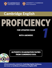 Cambridge English Proficiency 1 for Updated Exam CPE Practice Tests