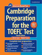 Cambridge Preparation for the TOEFL® Test Book with Online Practice Tests